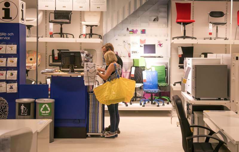 Inside of Ikea