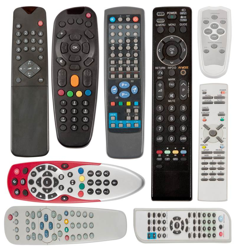 A selection of remotes