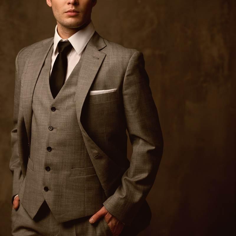 Classic tailored suit