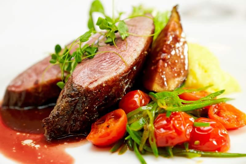Glazed Duck Gourmet Cuisine