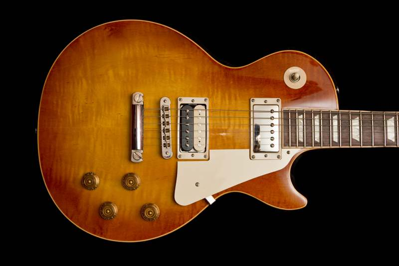 Vintage Les paul guitar