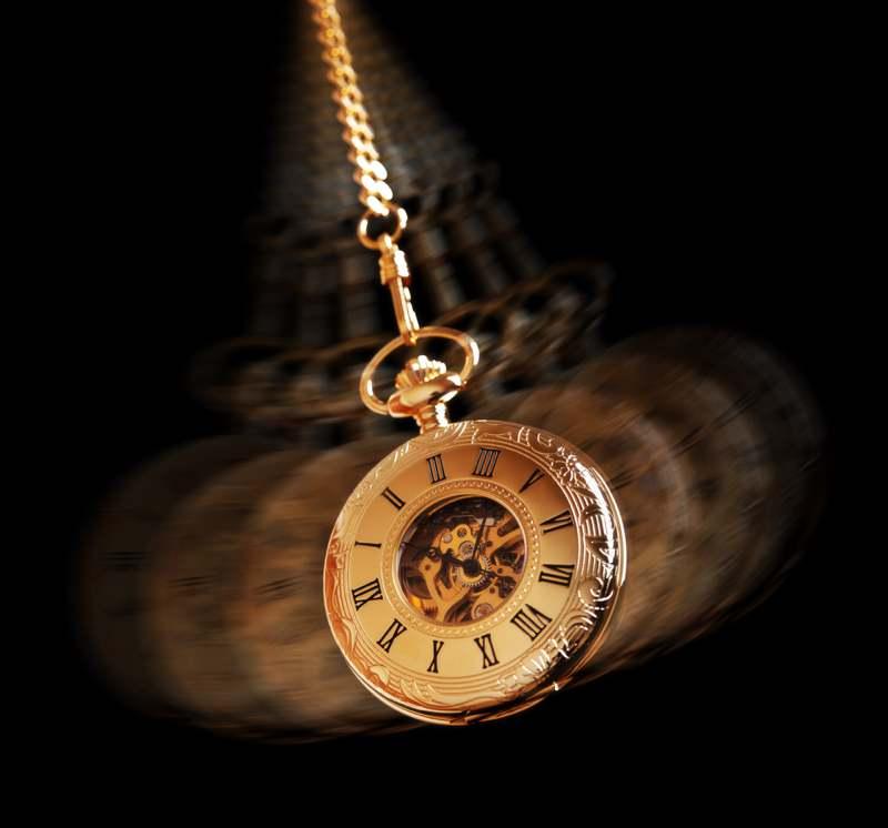 hypnotism clock