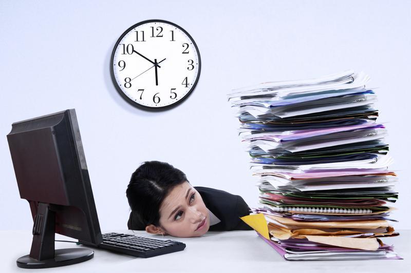 Trying to meet deadlines