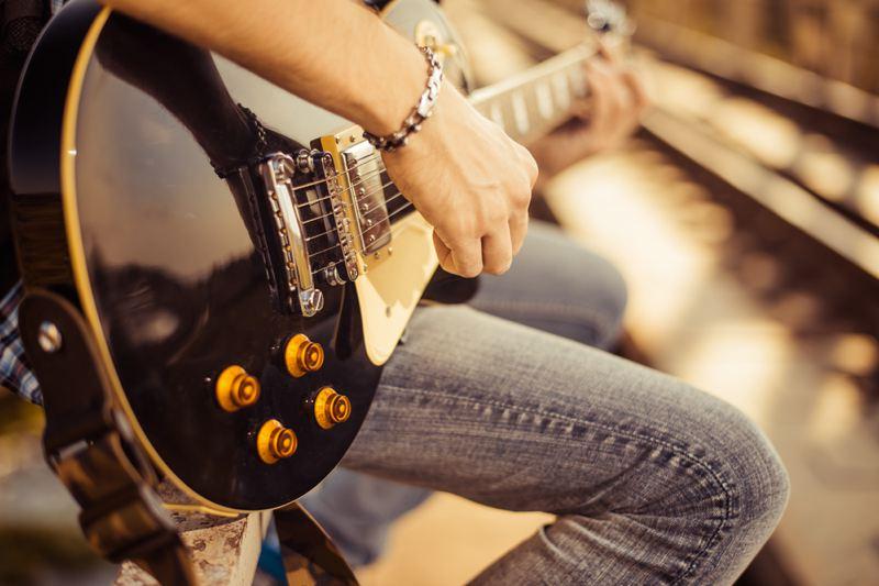 Musician guitar
