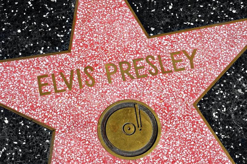 Elvis Star in Hollywood